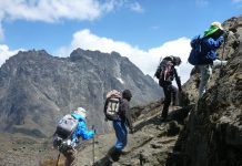 Mountain Rwenzori Hiking in Uganda